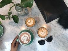 Latte Art! See the elephant?